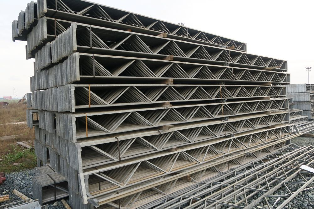 Poważne Konstrukcja stalowa kratownica dachowa 6,32 m. garaż wiata kurnik TA32